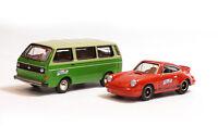 #06920 BUB 2000 km durch Deutschland 2009 - Porsche 911 2.7 RS und VW T3 - 1:87