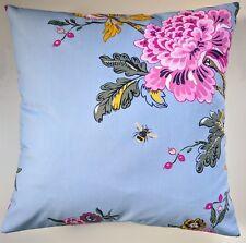 """Funda de Cojín en julios Azul chinoise Floral Bee 16"""""""