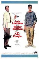 68739 The Odd Couple Jack Lemmon, Walter Matthau Wall Print POSTER Plakat