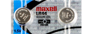 2 x Maxell LR44 Watch Batteries, LR44 Battery | Shipped from Canada