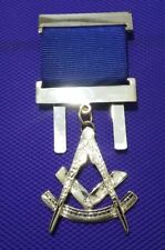 Master gold plated Jewel For Masonic Collar Regalia Freemasons