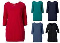 Sheego Damen Jerseykleid Kleid Dress Grün Schwarz Blau Rot Abend Party Red NEU