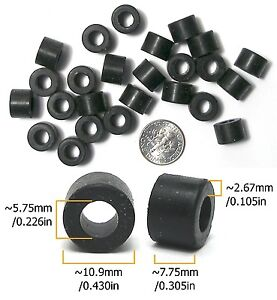 24pc TYCO HO Slot Car Wide Original SILICONE REAR TIRES Magnum 440 440-X2 HPX2