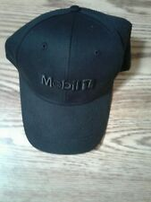 Mobil 1 Black Baseball Cap Adjustable New(Other) No Tags