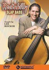 NEW Rockabilly Slap Bass - Taught by Lee Rocker (DVD)
