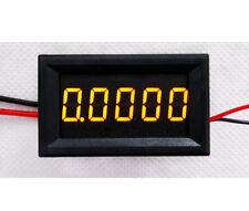 Digital LED Ammeter DC 0-3.0000A 5 Digit Amp Current Meter Power :5-30v 12v yell