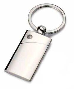 Portachiavi metallo con strass personalizzabile con incisione