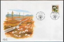 Finland FDC 1993, Flower, Marsh Labrador Tea, Mint