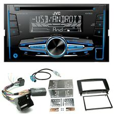 JVC kw-r520 Autoradio Cd usb mp3 AUX IN kit de montage pour Mercedes CLK w209 Facelift