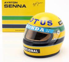 Ayrton Senna F1 Racing Helmet Lotus Honda 1987 1:2 (Minichamps AS-HS-1987)