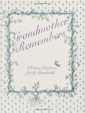Grandmother Remembers: A Written Heirloom for My Grandchild by Judith Levy