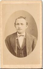 CDV photo Herrenportrait - Offenburg 1880er