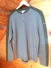 AVALANCHE Mens pullover SWEATER LONG SLEEVE Sz L color dark olive/grey