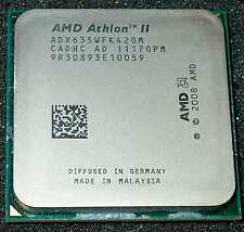 AMD Athlon II  X 4  2.9 GHz  Quad Core 635 Processor, ADX635WFK42GM, AM2+ / AM3