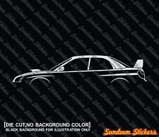 Lowered WAGON MAFIA sticker for Subaru Forester XT jdm 2nd Generation // SG