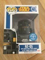 R2-Q5 - Star Wars Underground Toys Exclusive Funko Pop #41 *New & Protector*