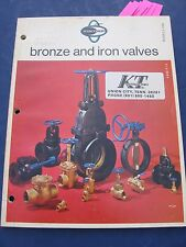 NIBCO-Scott Valves 1969 Catalog Asbestos Packing & Gaskets 164 pages