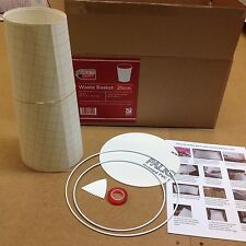 Bin / Waste Paper Basket Making Kit- Make Your Own Craft Kit. NeedCraft,UK Made
