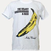 The Velvet Underground Indie Punk Rock Music Band T-shirt Unisex White S-3XL