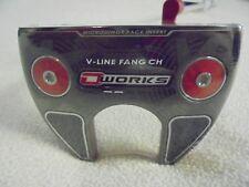 "Odyssey O-Works V-Line Fang CH 35"" Putter w/SuperStroke 2.0 Mid-Slim Grip"