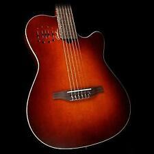 Godin 042180 Multiac Nylon Encore Burnt Umber Acoustic Electric Guitar With Bag