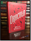Dracula by Bram Stoker New Leather Bound Deluxe Collectible with Ribbon Bookmark