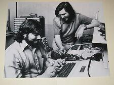 CEO Apple Computers STEVE JOBS + STEVE WOZNIAK 8x10 Print Poster Glossy Photo 1