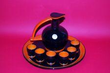 Rometti Sacru Umbertide Servizio  Rosolio Vintage Bottiglia Bicchieri Vassoio