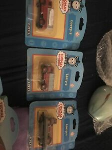 X 3,Thomas The Tank Engine & Friends Ertl Lorry-1 -2-3 New Old Stock