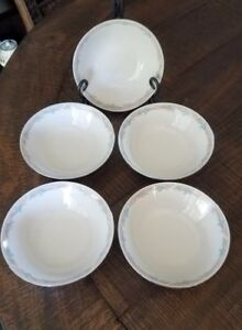 5 Illusions By Excel Scene I Cereal Salad Bowls  6.5 inch  Floral