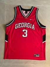 Uga University of Georgia Bulldogs #3 Ncaa Basketball Jersey Nike Team Sz Xl