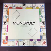 Parker Brothers Monopoly Board Game and Instructions 1961 Replacement Board