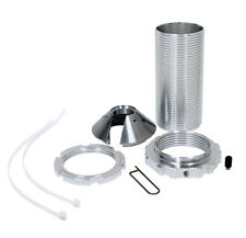 "QA1 CK1971C Coil-Over Sleeve Kit, 2.5"" Spring 55 Series, Cone Cap W/ Lock Nut"
