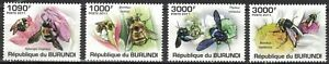 BURUNDI:2011 SC#882-85 MNH Bees mr13