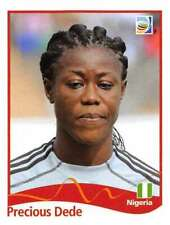 Panini FIFA World Cup 2011 Germany Women Sticker #66 Precious Dede Nigeria