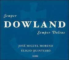 John Dowland: Semper Dowland Semper Dolens (CD, Feb-2003, 2 Discs, Glossa)