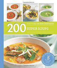 200 Super Soups: Hamlyn All Colour Cookbook, Lewis 9780600633433 New..