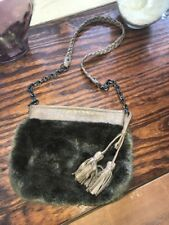 Juicy Couture Faux Fur Crossbody Bag