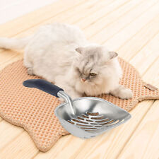 Large Size Cat Litter Scoop Sifter Metal with Long Rubber Holder hlk
