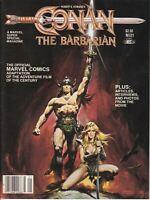CONAN THE BARBARIAN MARVEL SUPER SPECIAL #21 MAGAZINE VF+ ARNOLD SCHWARZENEGGER