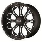 17 Inch Black Wheels Rims Lifted Chevy Truck Silverado 1500 Tahoe Suburban 6 Lug