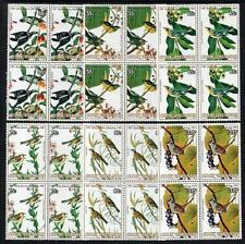 COOK ISLANDS MNH 1985 SG1015-20 Birds Blocks of 4