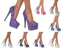 Stiletto Standard Width (B) Synthetic Shoes for Women