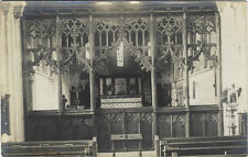 CASTLE HEDINGHAM ( Essex) :Church interior RP