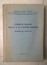 L'ESERCITO ITALIANO TRA LA PRIMA E LA SECONDA GUERRA MONDIALE 1955