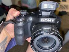 Sony Cyber-shot 20.1 MP Digital Camera - Black/with Case