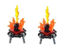LEGO 2 x Campfire Mini Builds for Minifigs Custom Built from LEGO parts NEW Fire