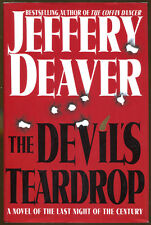 The Devil's Teardrop by Jeffrey Deaver-First Edition/Dust Jacket-1999