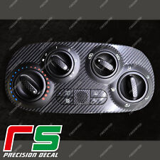 Fiat 500 abarth ADESIVI climatizzatore manuale decal cover tuning carbon look 4D