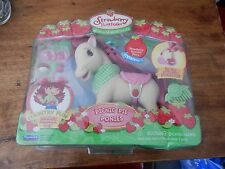2007 Strawberry Shortcake Picnic Pie Ponies NEW